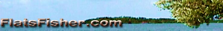 FlatsFisher.com banner flats fishing information